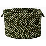 Brook Farm Winter Green Utility Basket
