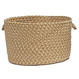 Brook Farm Tea Stained Utility Basket