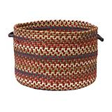 Cedar Cove Rust Utility Basket