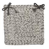 Corsica Silver Shimmer Chair Pad