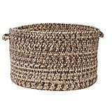 Corsica Weathered Brown Utility Basket