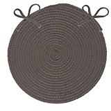 Crescent Gray Chair Pad