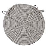 Crescent Silver Chair Pad