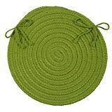 Crescent Bright Green Chair Pad