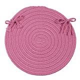 Flowers Bay Pink Chair Pad
