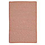 Outdoor Houndstooth Tweed Orange