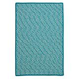 Outdoor Houndstooth Tweed Turquoise