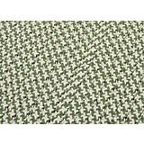 Outdoor Houndstooth Tweed Green Sample Swatch