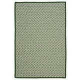 Outdoor Houndstooth Tweed Green