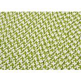 Outdoor Houndstooth Tweed Lime Sample Swatch