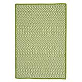 Outdoor Houndstooth Tweed Lime