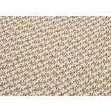 Outdoor Houndstooth Tweed Sand Sample Swatch