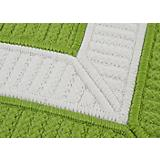 Rope Walk Bright Green Sample Swatch