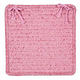 Simple Chenille Silken Rose Chair Pad