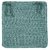 Simple Chenille Myrtle Green Chair Pad