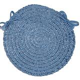 Spring Meadow Petal Blue Chair Pad