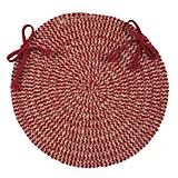 Softex Check Sangria Check Chair Pad