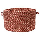 Belmont Red Brick Utility Basket