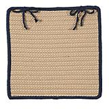 Boat House Navy Chair Pad