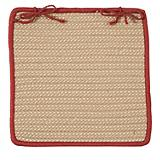 Boat House Rust Red Chair Pad