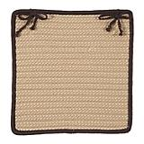 Boat House Brown Chair Pad