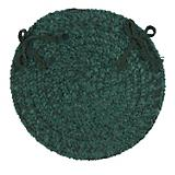 Spring Meadow Dark Green Chair Pad