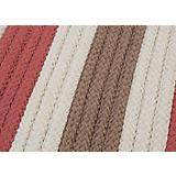 Stripe It Terracotta Sample Swatch