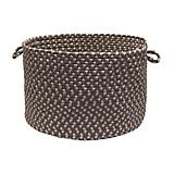 Tiburon Misted Gray Utility Basket