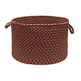 Tiburon Rusted Rose Utility Basket