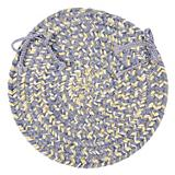 West Bay Amethyst Tweed Chair Pad