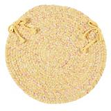 West Bay Banana Tweed Chair Pad