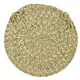 West Bay Celery Tweed Chair Pad