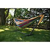 Viveres Combo Double Tropical Hammock with Stand