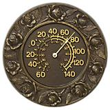 Rose Thermometer Verdigris