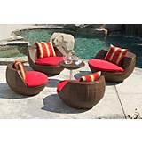 Cantina 5 Piece Outdoor Seating Set