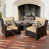 Delano Club Chair 2 Pack and Side Table