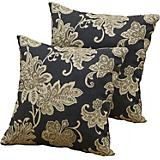 Delano Jacquard Square Pillow 2 Pack