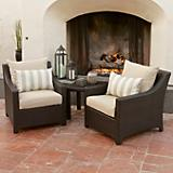 Slate Club Chair 2 Pack and Side Table