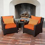 Tikka Club Chair and Side Table 2 Pack
