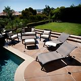 ZEN 7 pc Seating and Lounger Set