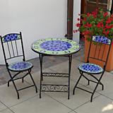 Decorative Bistro w/ Ceramic Tile