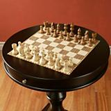 Red Star Traders Artisan Chess Table