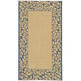 Courtyard Rug CY0727 Natural Blue