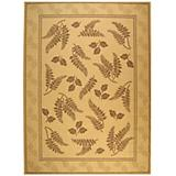 Courtyard Rug CY0772 Natural Brown