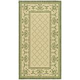 Courtyard Rug CY0901 Natural Olive