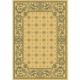 Courtyard Rug CY1356 Natural Brown