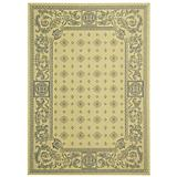 Courtyard Rug CY1356 Natural Blue