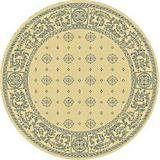 Courtyard Rug CY1365 Blue Natural