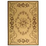 Courtyard Rug CY1893 Natural Brown