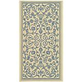Courtyard Rug CY2098 Natural Blue